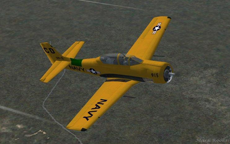 FSX US Navy North American T-28 Trojan