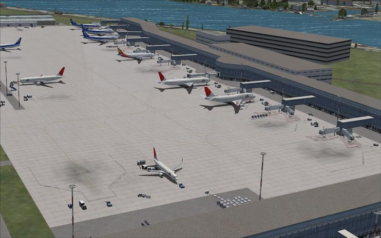 FSX Scenery - Tokyo Haneda International Airport by Ray Smith / FSX