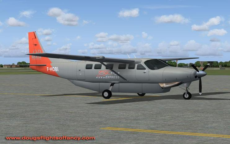 FS2004 Fly Express Cessna 208B Grand Caravan