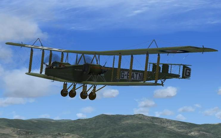 FSX Handley Page HP400
