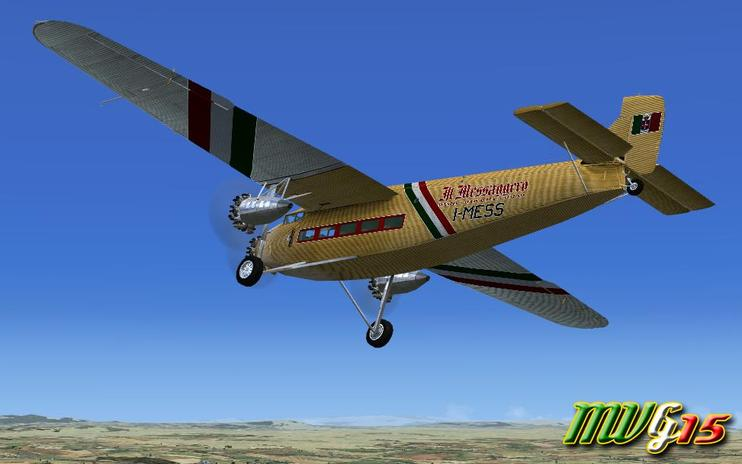 "FSX Ford Trimotor ""Il Messaggero"""