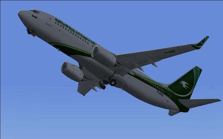 FS2004/FSX Iraqi Airways Boeing 737-800