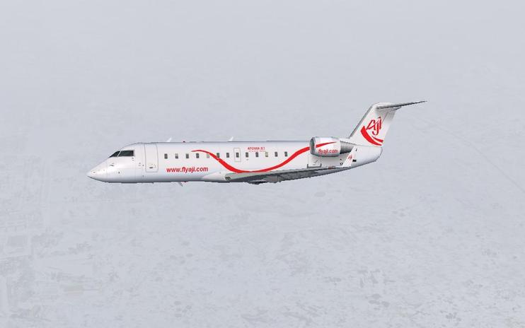 FS2004 Afghan Jet International CRJ 200