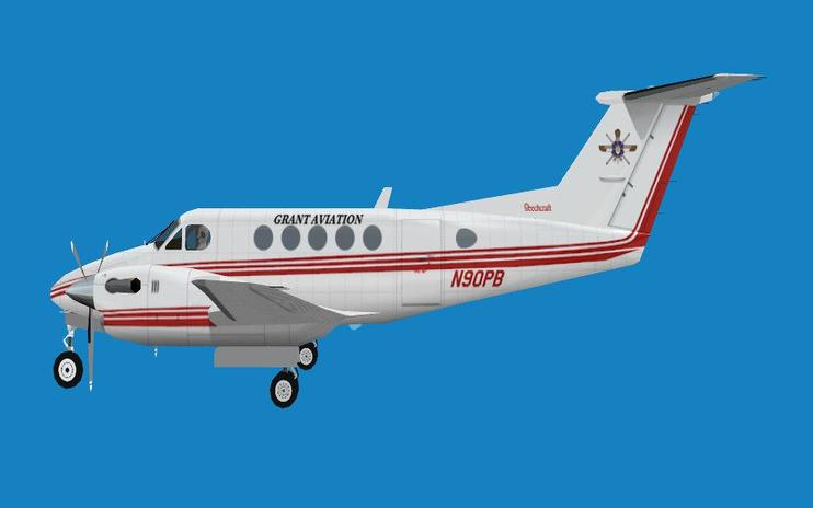 FS2004 Beech King Air 200