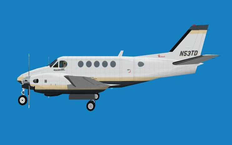 FS2004 Beechcraft King Air A100