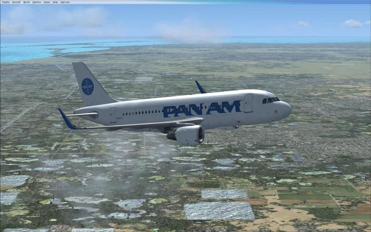 FSX Pan American Embraer Airbus A319NEO