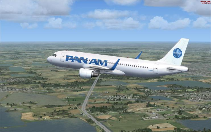 FSX Pan American Airbus A320NEO