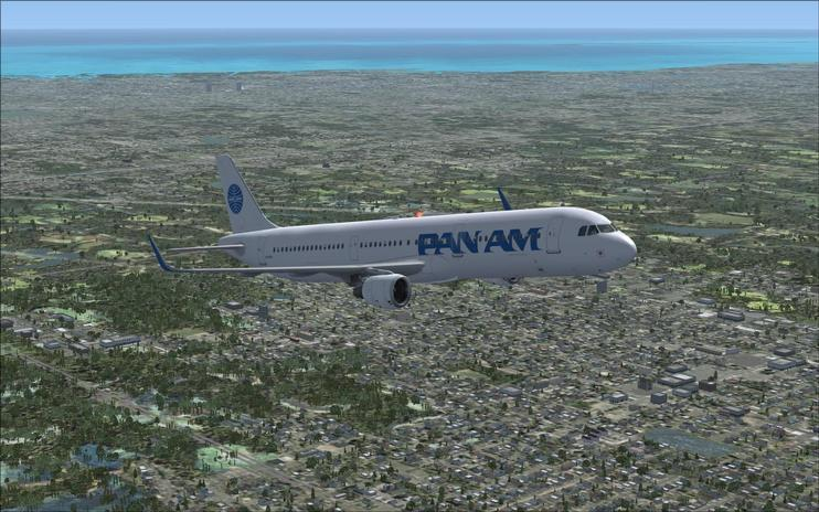 FSX Pan American Airbus A321NEO