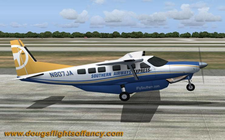 FS2004 Southern Airways Express Cessna C208
