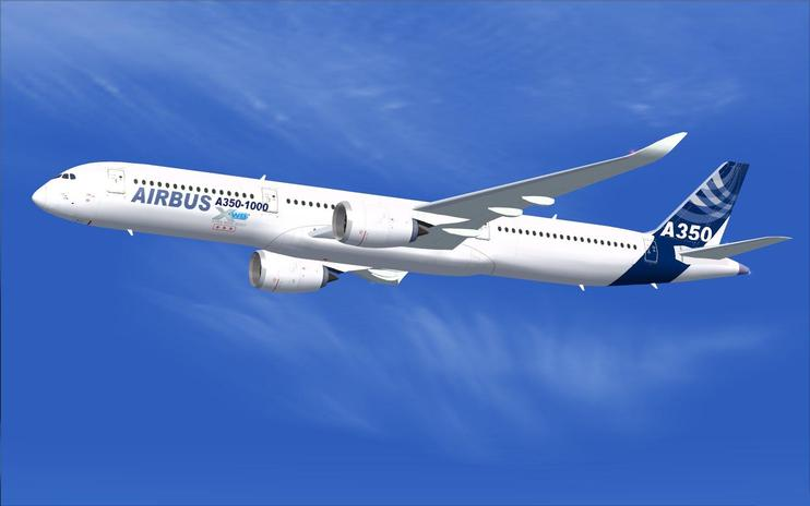 FSX House Colors Airbus A350-900