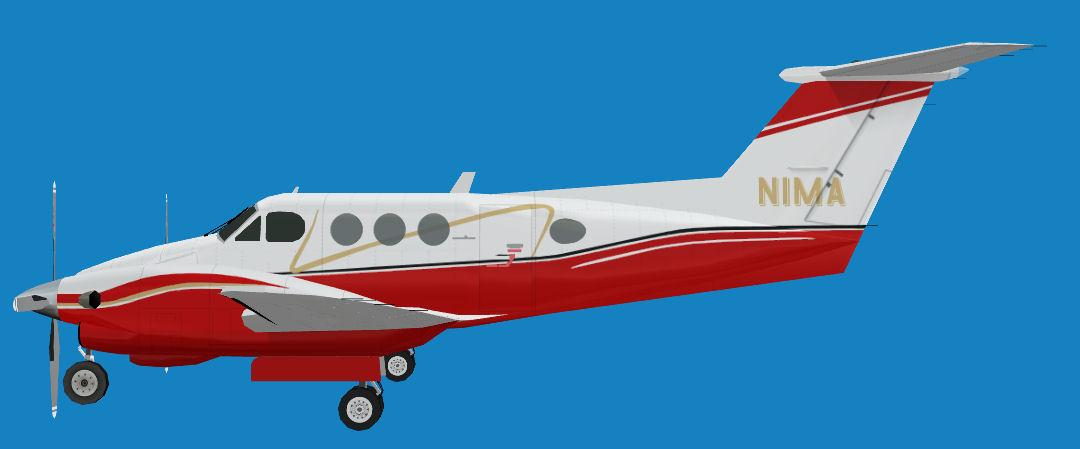 FS2004 Beechcraft King Air F90