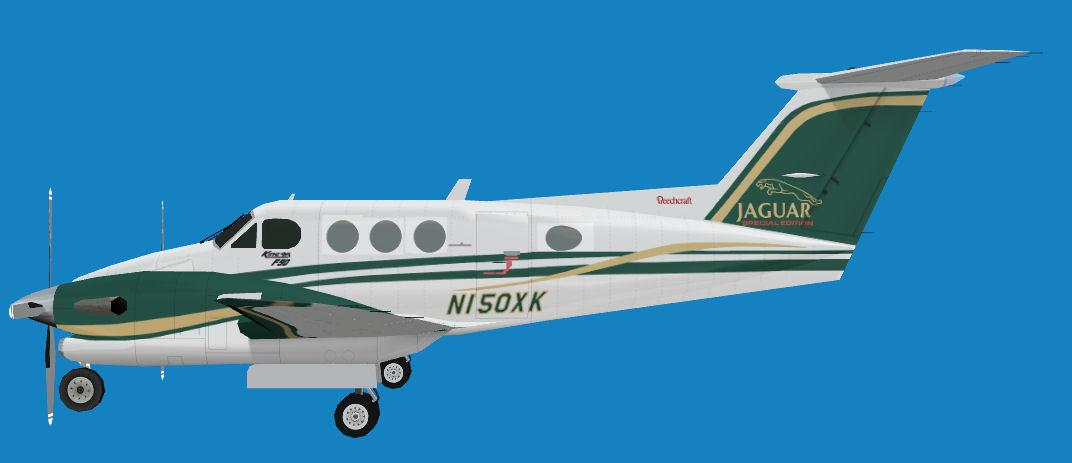 FS2004 Beechcraft King Air F90-1