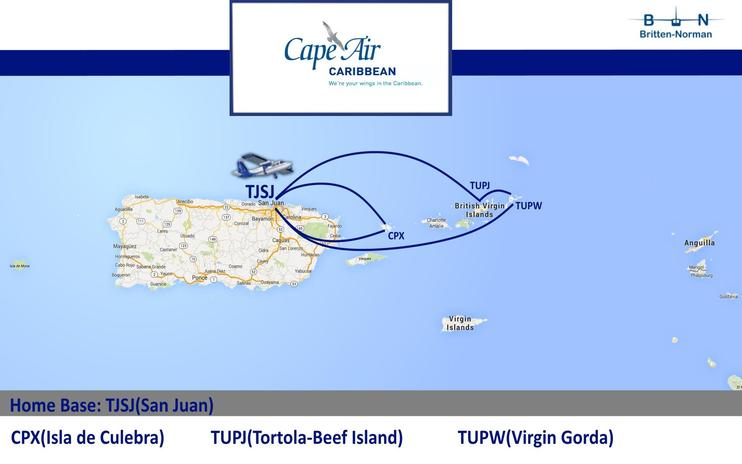 FS2004/FSX Cape Air Caribbean Flight Plans