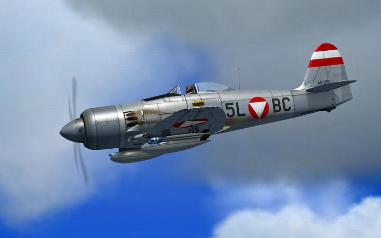 FSX Austria Air Force Hawker Sea Fury