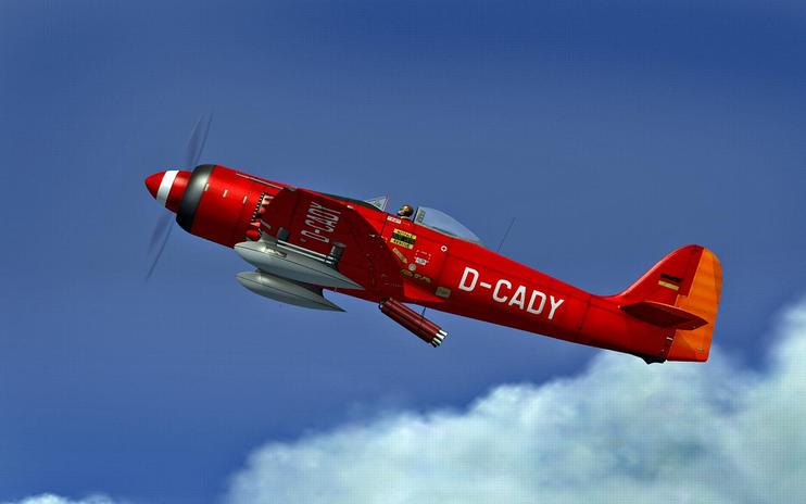 FSX Hawker Sea Fury D-CADY