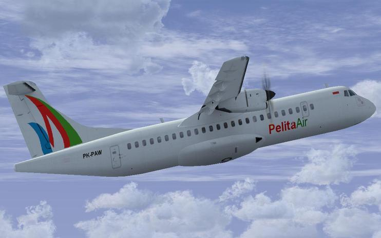 FS2004/FSX Pelita Air ATR Fleet