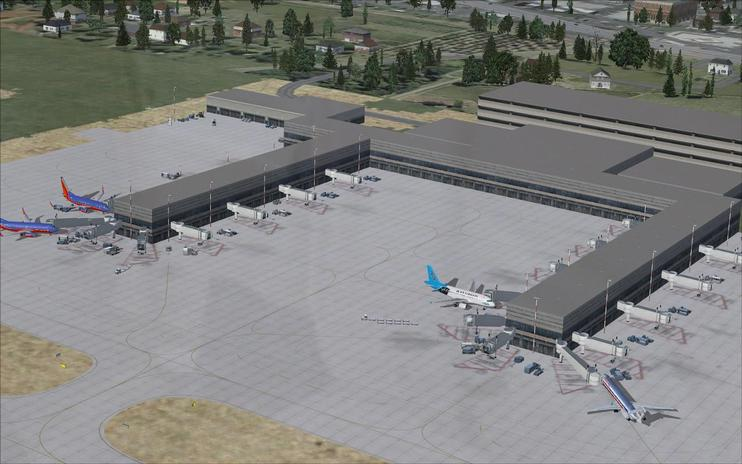FSX Scenery - Reno/Tahoe International Airport