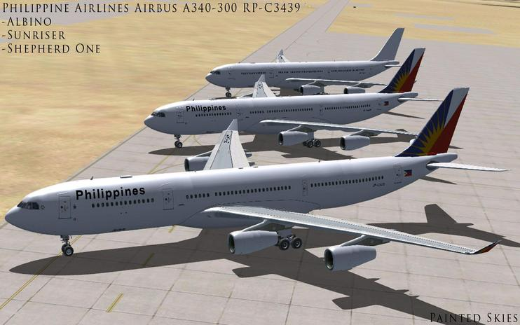 FSX Philippine Airlines Airbus A340-300