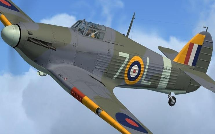 FSX Hawker (Sea) Hurricane 7L