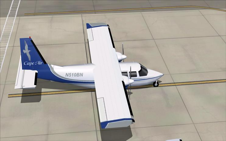 FS2004 Cape Air BN Islander Pack