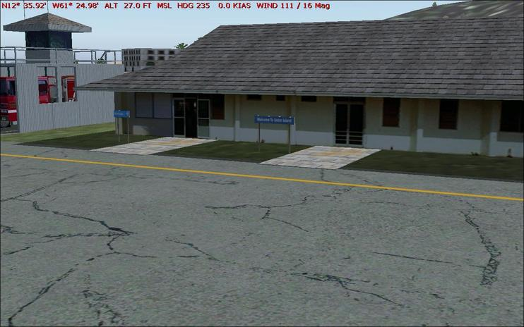 FS2004 Scenery - Union Island