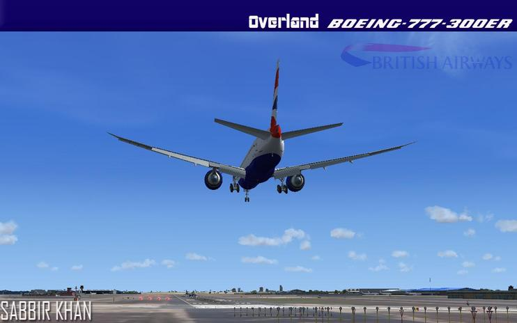 FS2004/FSX British Airways Boeing 777-300ER by Sabbir Khan