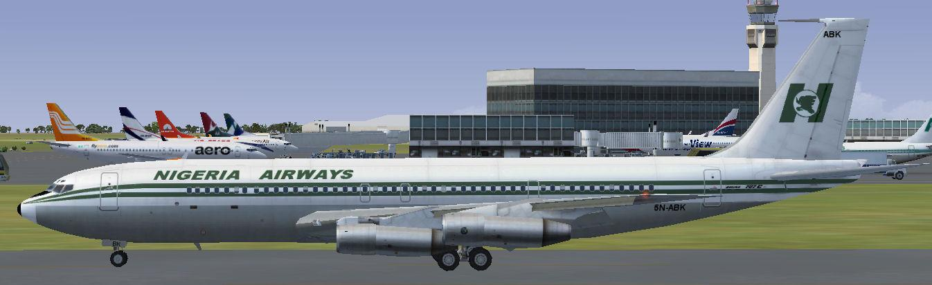 FS2004/FSX Nigeria Airways Boeing 707