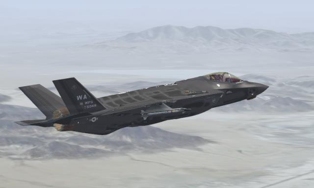 FSX US Air Force F-35A USAF WA Repaints