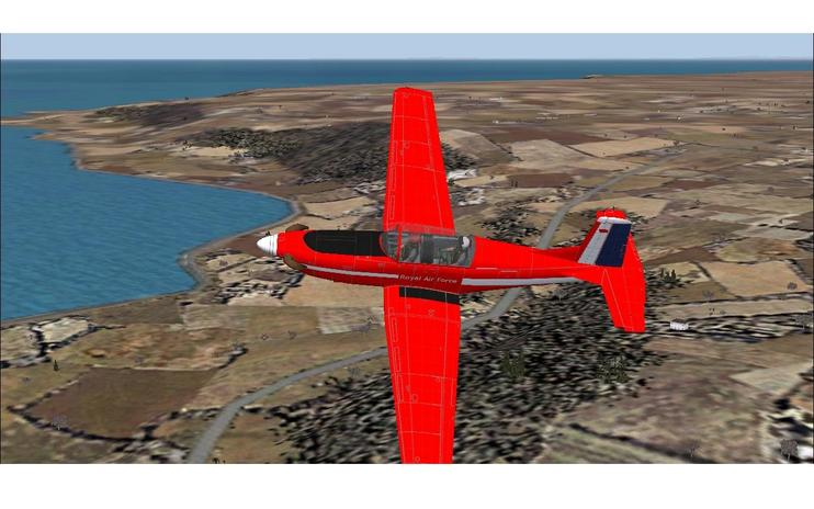 FS2004 Red Arrows Pilatus PC-7