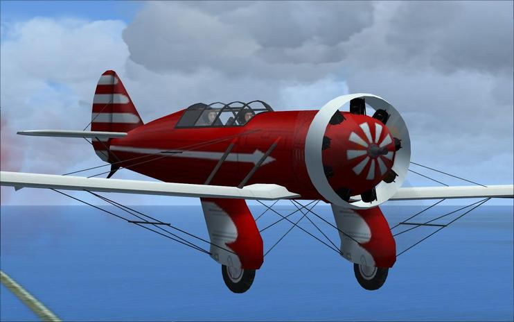 FSX Yak Air7 Racer With Updated Panels