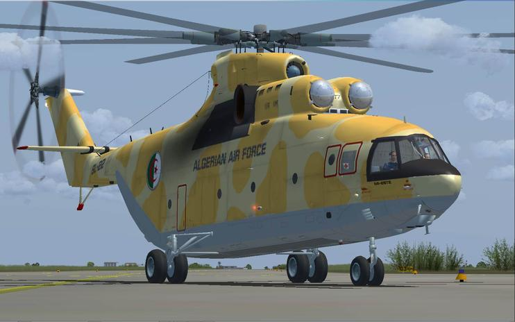 FSX Mil Mi-26T2 Algerian air force
