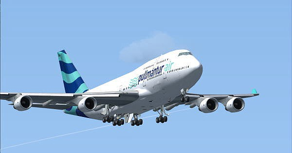FSX Pullmantur Air B747-400