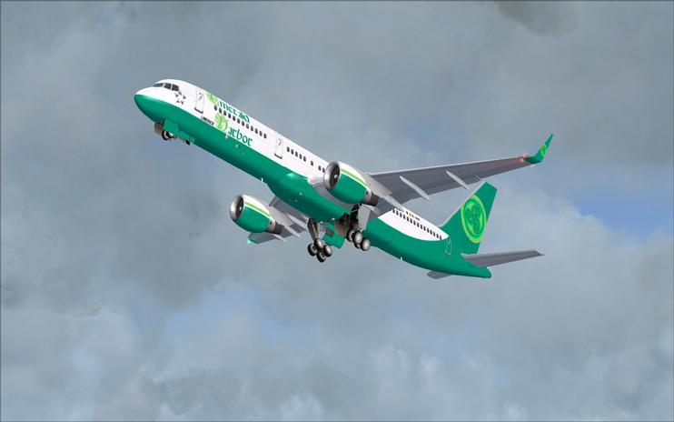 Emerald Harbor Air boeing 757-200 PW