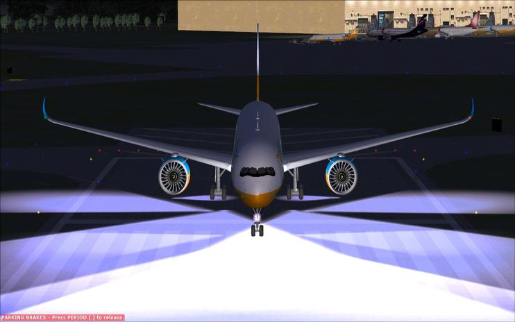 Airbus a350-1000 Remake