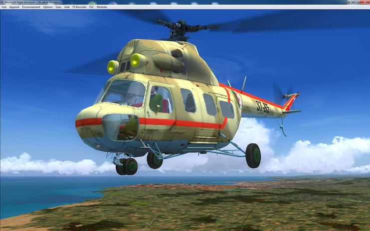 FS2004 Mil MI-2 Algerian Air Force