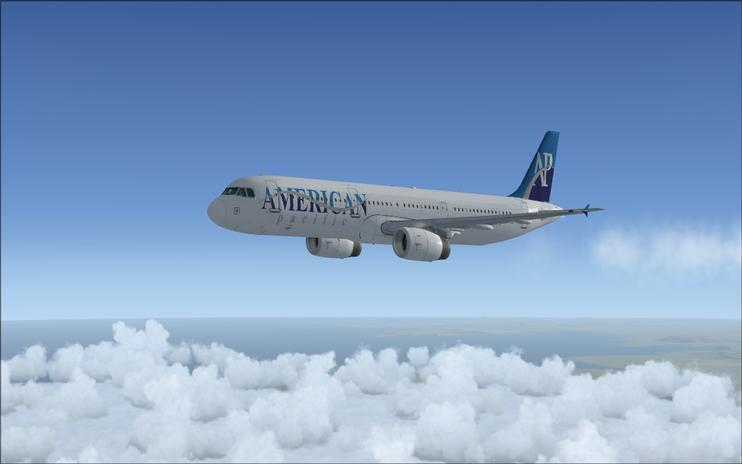 Airbus a321 default fsx American Pacific Airways